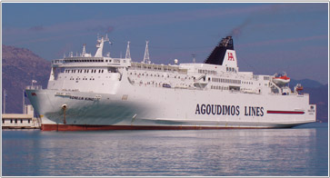 Camping a Bordo - Agoudimos Lines Ferries
