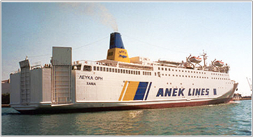 Camping on Board - Anek Lines Ferries
