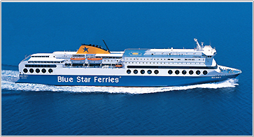 Camping à bord - Blue Star Ferries
