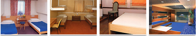 Accommodation on Board - Endeavor Ferries