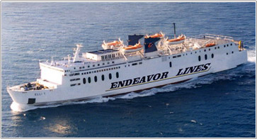 Camping an Bord - Endeavor Lines Ferries