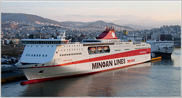 Camping an Bord - Grimaldi Euromed Ferries