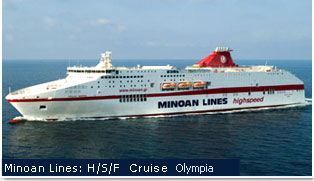 Grimaldi Euromed Ferries - Cruise Olympia
