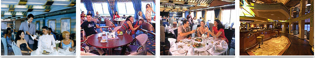 Restaurants and Bars - Grimaldi Euromed Ferries