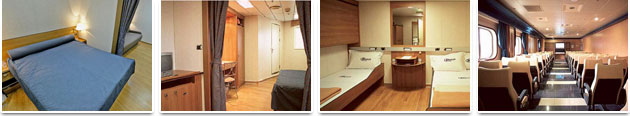 Accommodation on Board - Grimaldi Lines