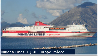 Anek Lines Ferries - Europa Palace