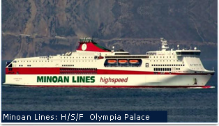 Minoan Lines Ferries - Olympia Palace