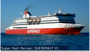 Superfast Ferries - Superfast VI