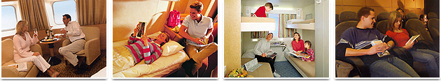 Accommodation on Board - Superfast Ferries