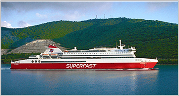 Camping an Bord - Superfast Ferries