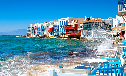 Ferry tickets from and to the island of Mykonos