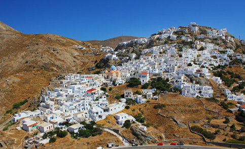 Ferry tickets from and to the island of Serifos