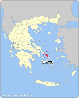 Bateaux vers la Grèce   La météo à Andros