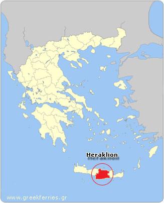 griechenland heraklion karte Wetter in Griechenland   Wettervorhersage Heraklion