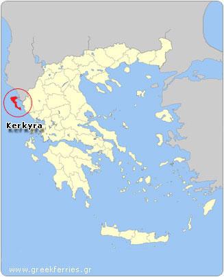 Ferries to Greece Weather in Kerkyra Corfu