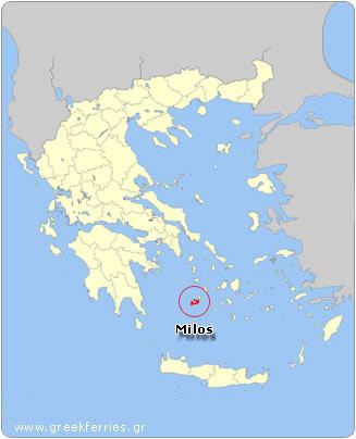 Bateaux vers la Grèce   La météo à Milos