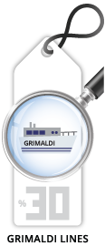 Grimaldi Ferries Return Trip Discount