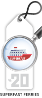 Superfast Ferries Discount for Families & Friends