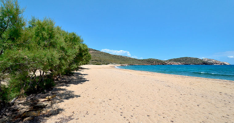 Psathi Beach in Ios Cyclades