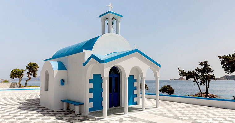 Byzantine Churches in Milos Cyclades