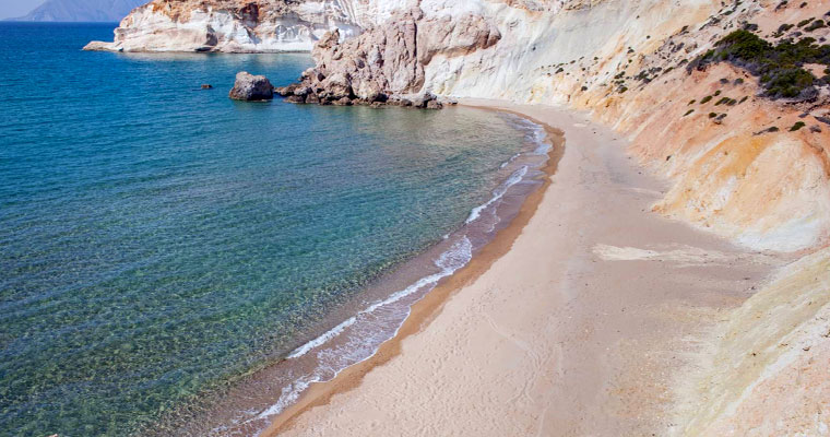 Agios Ioannis Beach in Milos Cyclades