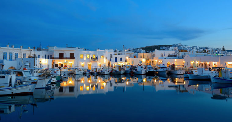 Naoussa in Paros Cyclades