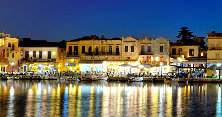 City of Rethymno Crete